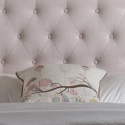 Charlottesville Upholstered Panel Headboard Size: Queen, Color: Charcoal