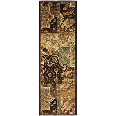 Callicoon Bohemian Brown Area Rug Rug Size: Runner 27 x 8