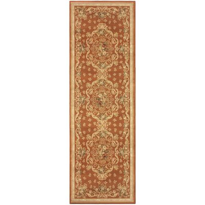 Callicoon Orange Area Rug Rug Size: Runner 2'7