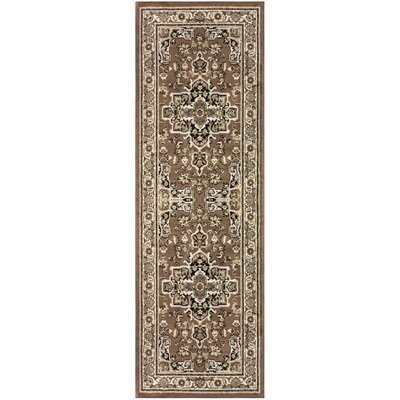 Callicoon Brown Area Rug Rug Size: Runner 27 x 8