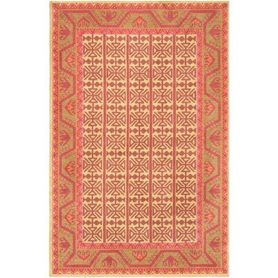 Robbins Tan Area Rug Rug Size: Rectangle 76 x 96