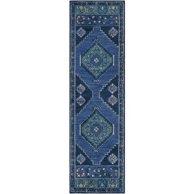 Robbins Southwestern Navy Area Rug Rug Size: Rectangle 76 x 96