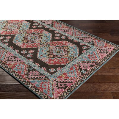 Robbins Rose Area Rug Rug Size: Rectangle 76 x 96