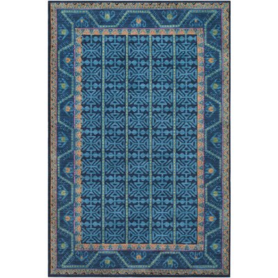 Robbins Classic Navy Area Rug Rug Size: Rectangle 9 x 12