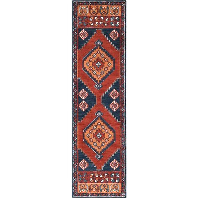 Robbins Burnt Orange Area Rug Rug Size: 9 x 12