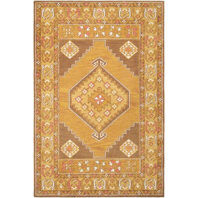 Robbins Ivory/Taupe Area Rug Rug Size: Rectangle 5 x 76