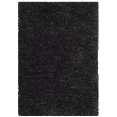 Detweiler Hand-Tufted Charcoal Area Rug Rug Size: Rectangle 2 x 3