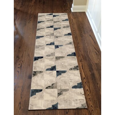 Norwich Bone Area Rug Rug Size: Runner 22 x 77