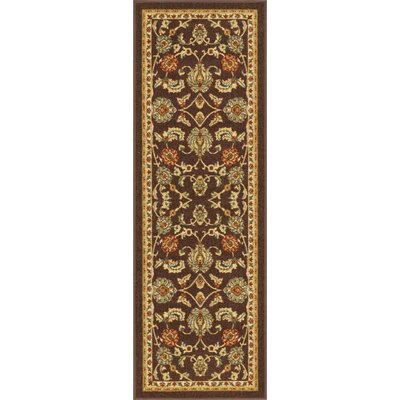 Addieville Brown Area Rug Rug Size: Runner 27 x 12