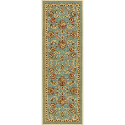 Addieville Blue Area Rug Rug Size: Runner 2 x 7