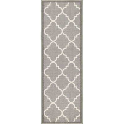 Addieville Gray Area Rug Rug Size: Runner 2 x 7