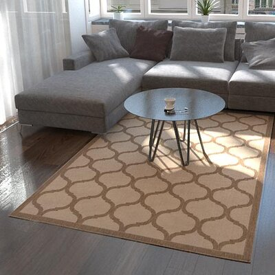 Stanwich Brown Outdoor Area Rug Rug Size: Rectangle 53 x 8