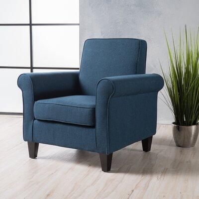 Conrad Armchair Upholstery: Dark Blue