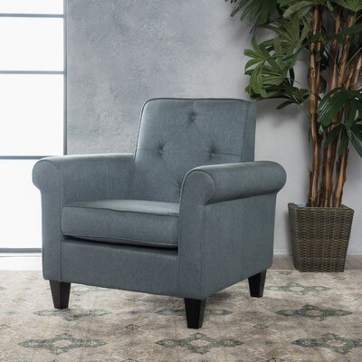 Coll Armchair Upholstery: Blue Gray