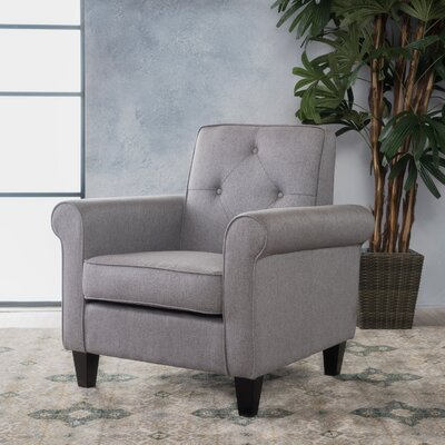 Coll Armchair Upholstery: Gray