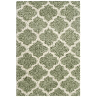 Bingham Green Indoor Area Rug Rug Size: Rectangle 4 x 6