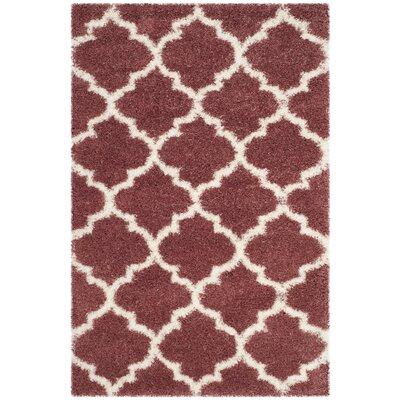 Bingham Pink Indoor  Area Rug Rug Size: Rectangle 4 x 6