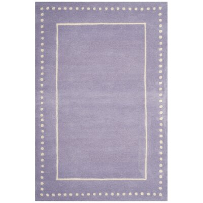 Amundson Hand-Tufted Gray Area Rug Rug Size: Rectangle 4 x 6