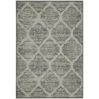 Orville Gray Area Rug Rug Size: Rectangle 4 x 57