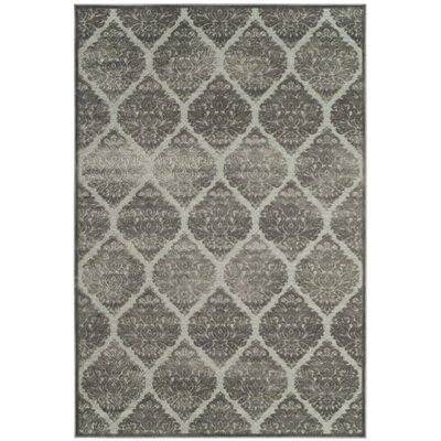 Orville Gray Area Rug Rug Size: Rectangle 53 x 76