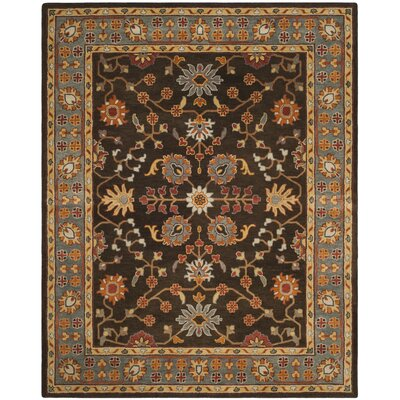 Cranmore Hand-Tufted Brown/Beige Area Rug Rug Size: Rectangle 8 x 10