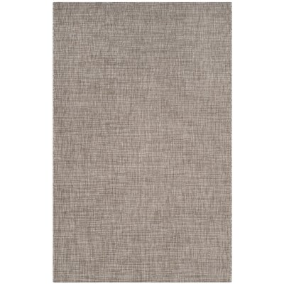 Poole Brown/Beige Indoor/Outdoor Area Rug Rug Size: Rectangle 53 x 77