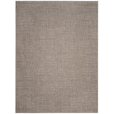 Poole Brown/Beige Indoor/Outdoor Area Rug Rug Size: Rectangle 8 x 11