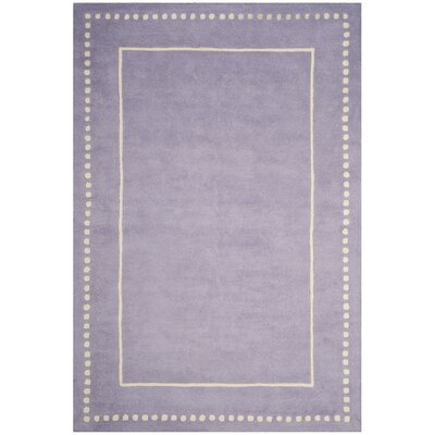 Amundson Hand-Tufted Gray Area Rug Rug Size: Rectangle 6 x 9