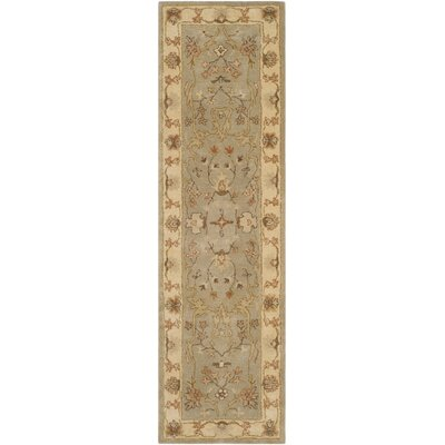 Otwell Hand-Tufted Gray/Beige Area Rug Rug Size: Runner 23 x 8