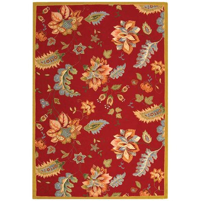 Helena Floral Area Rug Rug Size: Rectangle 6 x 9