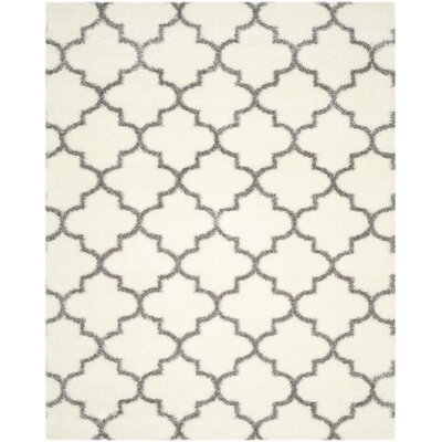Bingham Beige/Gray Indoor Area Rug Rug Size: Rectangle 8 x 10