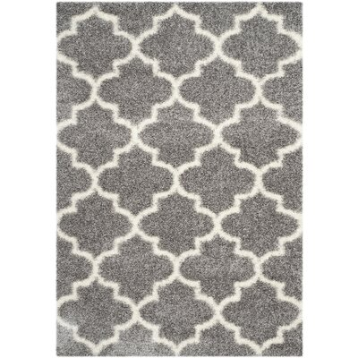 Bingham Gray Area Rug Rug Size: Rectangle 53 x 76