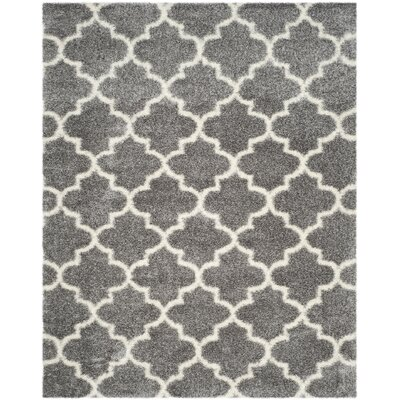 Bingham Gray Area Rug Rug Size: Rectangle 8 x 10