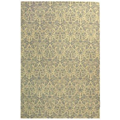Helena Beige Yellow/Grey Area Rug Rug Size: Rectangle 6 x 9