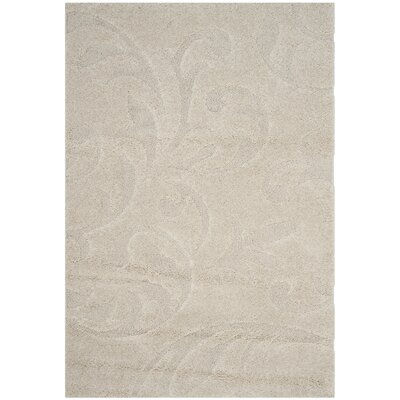 Diederich Beige Indoor Area Rug Rug Size: Rectangle 53 x 76