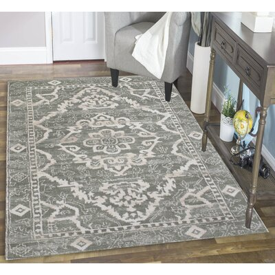 Norwood Green Area Rug Rug Size: Rectangle 53 x 73