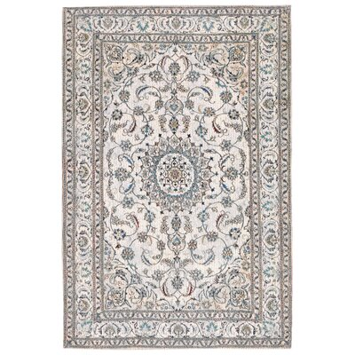 Astoria Nain White/Brown Area Rug Rug Size: 2 x 3