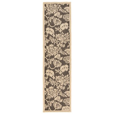 Brasstown Brown Indoor/Outdoor Area Rug Rug Size: Rectangle 710 x 910