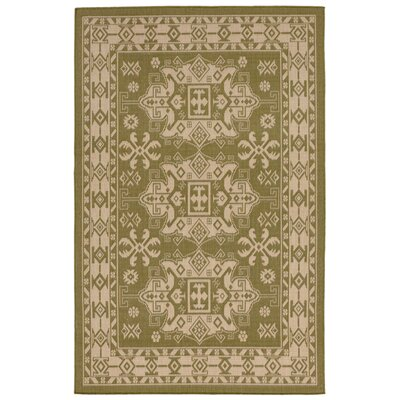 Brasstown Green Indoor/Outdoor Area Rug Rug Size: Rectangle 410 x 76
