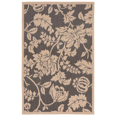 Brasstown Brown Indoor/Outdoor Area Rug Rug Size: Rectangle 410 x 76