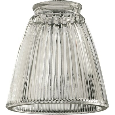 Clear Ribbed 5 Glass Novelty Pendant Shade