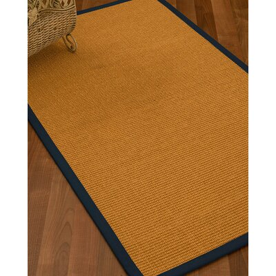 Bullen Hand Woven Brown Area Rug Rug Size: Rectangle 4 X 6