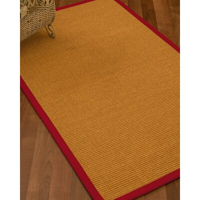 Bullen Hand Woven Brown Area Rug Rug Size: Rectangle 6 X 9