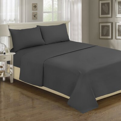 Lasalle 1200 Thread Count Sheet Set Size: Queen, Color: Grey