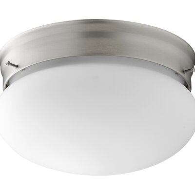 Bush 2-Light Flush Mount