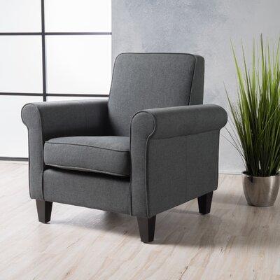 Conrad Armchair Upholstery: Dark Gray