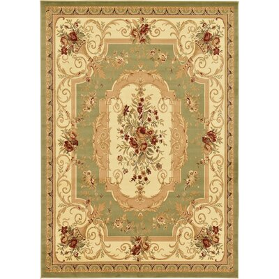 Patton Green Area Rug Rug Size: Square 6
