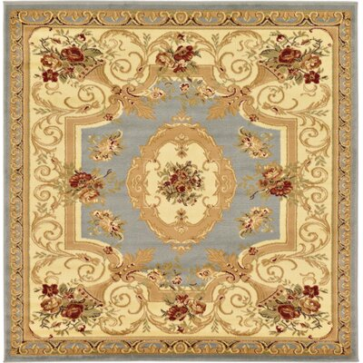 Patton Gray Area Rug Rug Size: Square 8