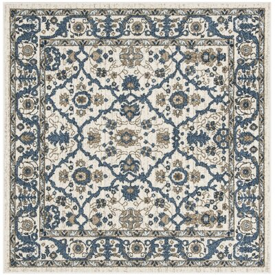 Buterbaugh Cream Area Rug Rug Size: Square 51