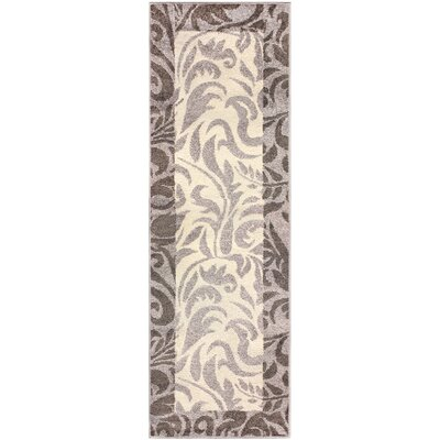 Camillus Gray Area Rug Rug Size: Runner 27 x 8